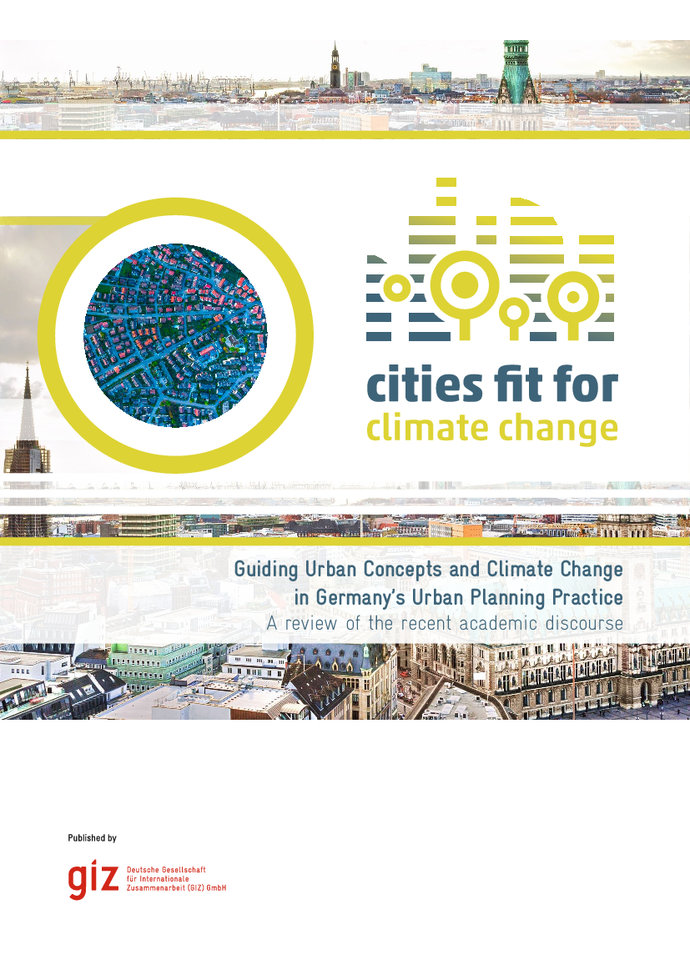 Guiding Urban Concepts and Climate Change in Germany's Urban