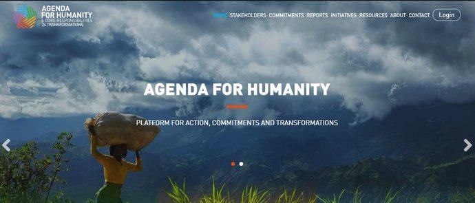 Agenda For Humanity Alnap