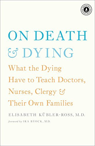 death grief suffering and dying in the book on death and dying by elizabeth kubler On death and dying by elisabeth kubler-ross is an people experience after suffering from personal trauma, grief a book called 'on death and dying.