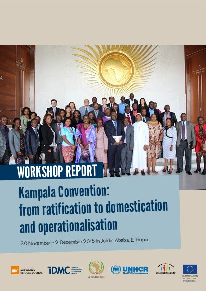 Kampala Convention: from ratification to domestication and
