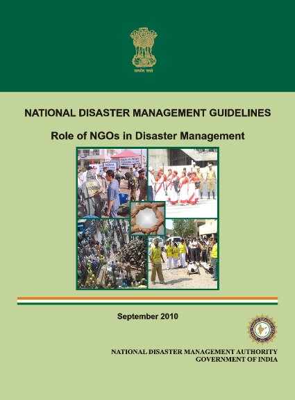 role of ngos in desaster management Role of civil society in natural disaster management background the devastating gorkha earthquake on april 25 and its aftershocks have claimed the.